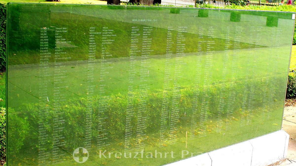 Southampton - Watts Park / West Park - War Memorial