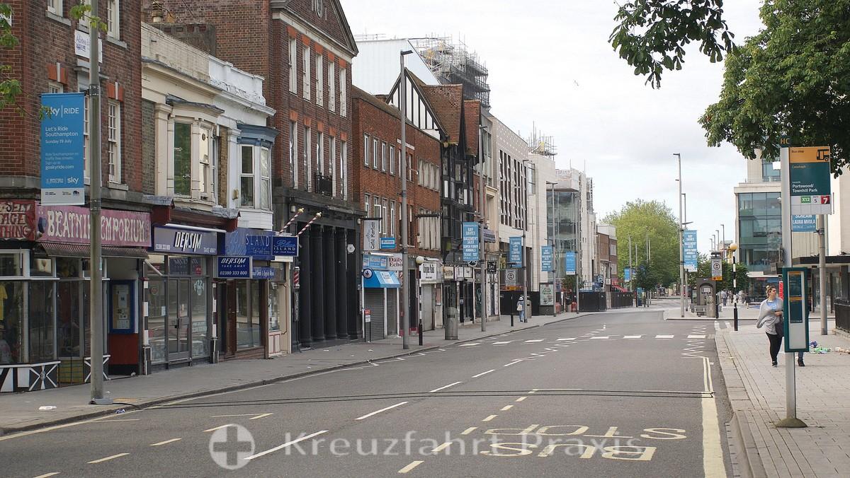 Southampton - the QE2 Mile