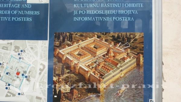 Darstellung des Diokletianpalasts