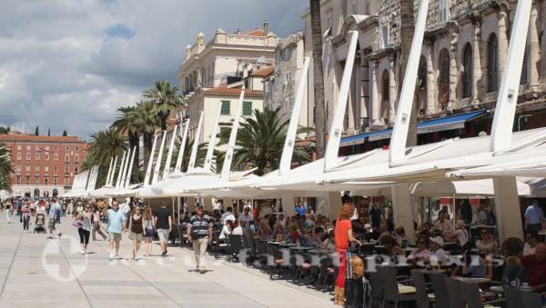 Split - Riva-Uferpromenade