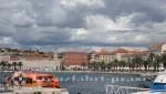 Split - Hafen und Riva-Promenade
