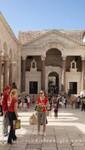 Split - Vestibül und der Syrische Bogen