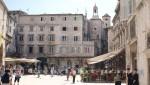 Split - Der Narodni Trg mit dem Uhrenturm