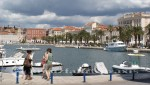 Split - Hafen und Riva-Uferpromenade