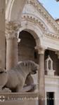 Split - Der Syrische Bogen am Peristyl