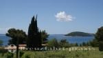 Split - Blick von Marjan auf eine vorgelagerte Insel