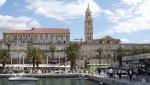 Split - Stadtmauer und Turm der Kathedrale