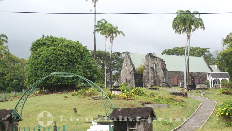 St. Kitts - St. Thomas Anglican Church in Old Road Town