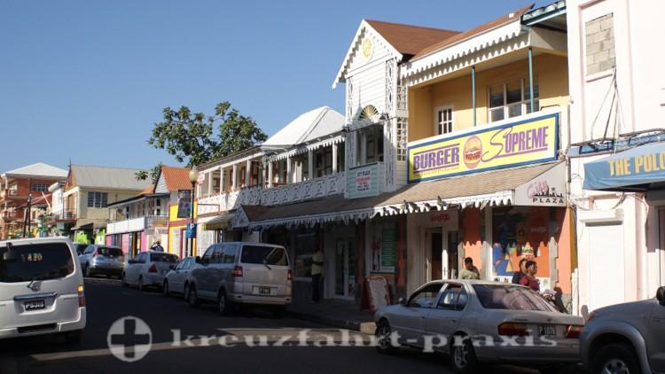 St- Kitts - Im Zentrum von Basseterre