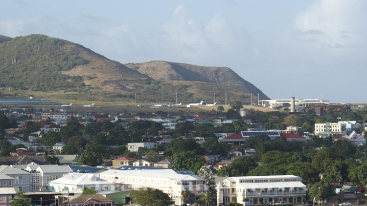 St- Kitts - Flughafen