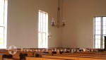 Sydney/Cape Breton - Highland Village Museum - Innenraum der Malagawatch-Kirche