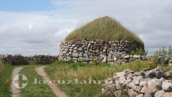Sydney/Cape Breton - Erste Wohnstätte schottischer Einwanderer im Highland Village Museum