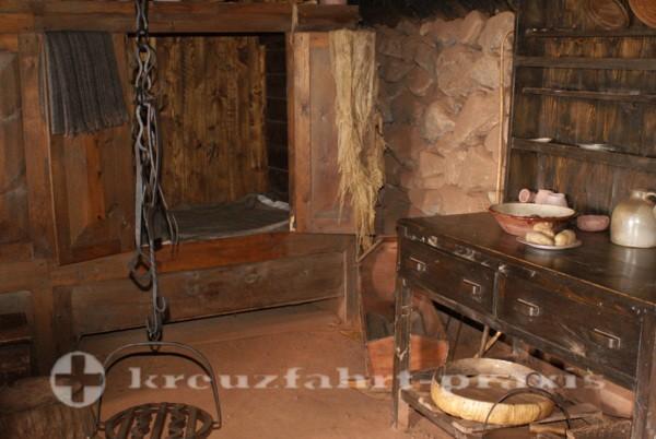 Sydney/Cape Breton - Highland Village Museum - Ausstattung des Scottish Home