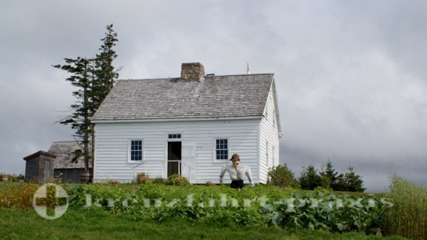 Sydney/Cape Breton - Haus im Highland Village Museum