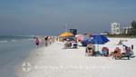 Strandabschnitt bei Siesta Key
