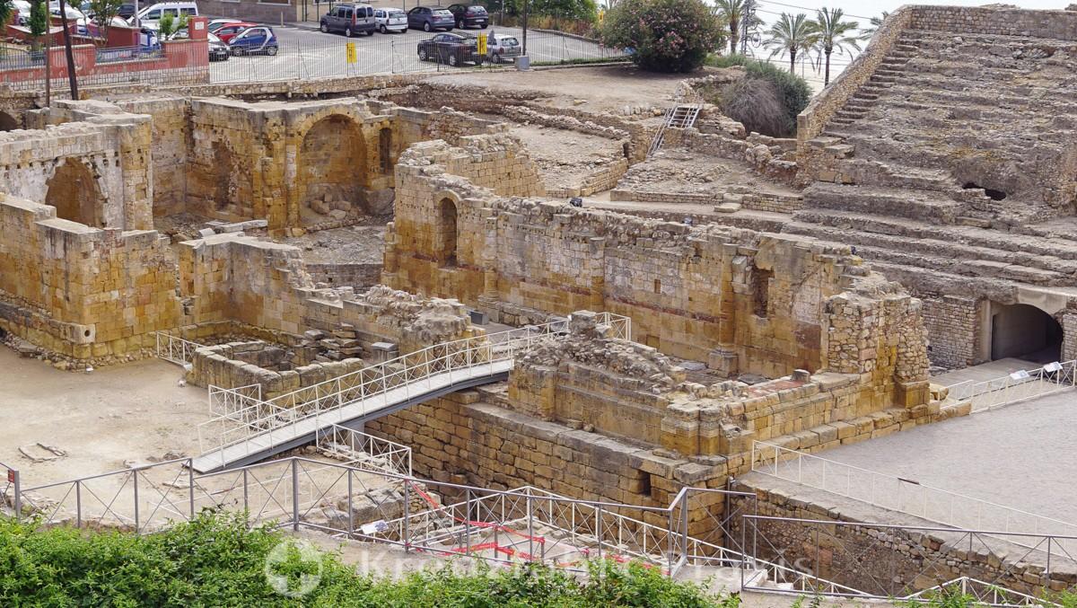 Reste des Amphitheaters
