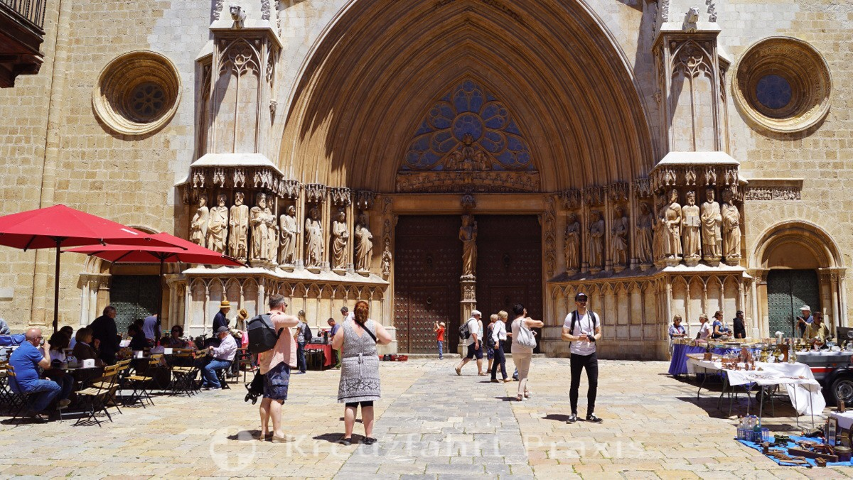 Eingangsportal der Kathedrale