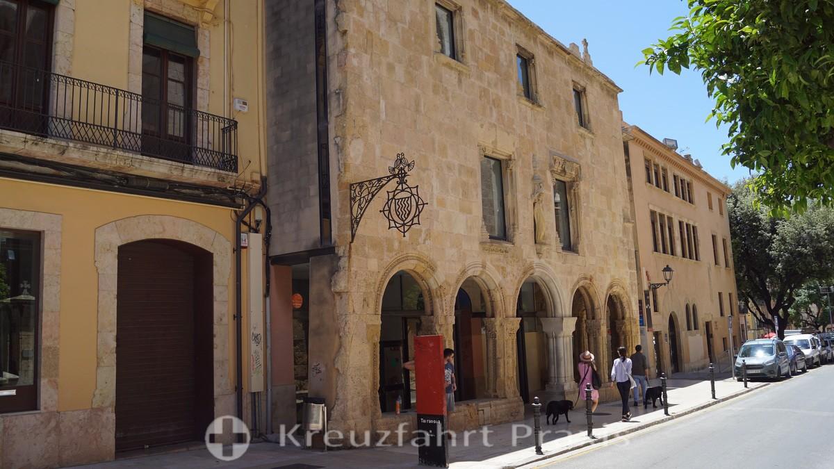 Hospital medieval in der Carrer de los Coques