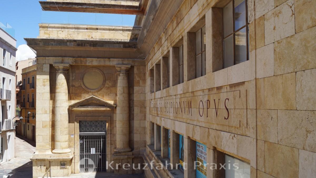 Plaça del Rei - Museu Nacional Arqueològic de Tarragona