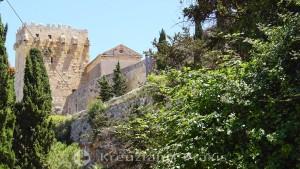 Römische Stadtmauer am Camp de Mart