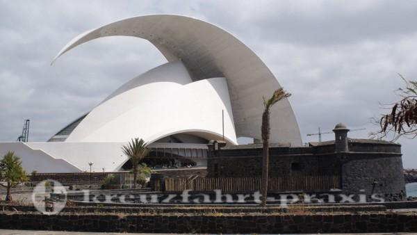 Teneriffa - Auditorio de Tenerife