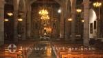 Teneriffa - Das Kircheninnere mit dem Altar