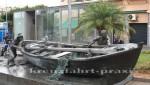 Teneriffa - Skulptur vor dem Mercado Central de Nuestra Senora de Africa