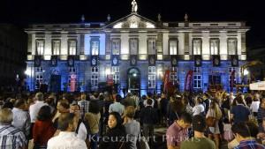 Praça Velha - city festival in front of the town hall