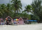 Antigua - Kiosk und Strandrestaurant