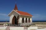 Seitenansicht der Alto Vista Chapel