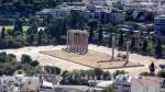 Athen - Tempel des Olympischen Zeus und Hadriansbogen