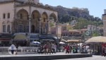 Monastiraki und Akropolis