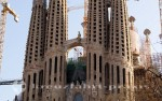 Sagrada Familia Ausschnitt
