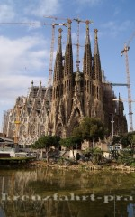 Sagrada Familia Rückseite