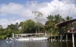 Belize - Flussboote