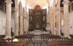 Cartagena - Mittelschiff und Altar der Kathedrale von Cartagena