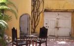 Cartagena - Innenhof des Teatrino