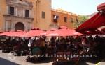 Cartagena - Plaza und Klosterkirche Santo Domingo