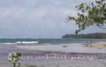 Strandabschnitt im Cahuita Nationalpark