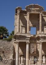 Ephesus - Celsus Bibliothek Ausschnitt