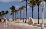 Florida - Strand von Hollywood Beach