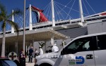 Florida - Terminal im Kreuzfahrthafen