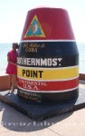 Florida - Southernmost Point mit Dame