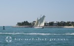 Florida - Segler vor Key West