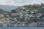 Grenada - Häuser am Inner Harbour