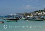 Grenada - Pier am Strand