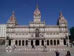 La Coruña - Rathaus