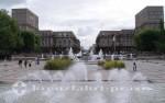 Le Havre - Fontänen vor dem Rathaus