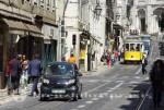 Lissabon - Strassenbahn im Zentrum