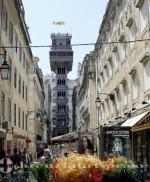 Lissabon - Elevador de Santa Justa